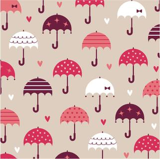 umbrella with love wallpaper design