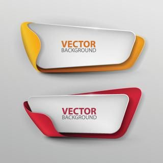 Vector banners set.