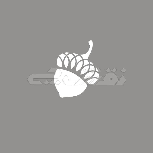 logo icon oak acorn